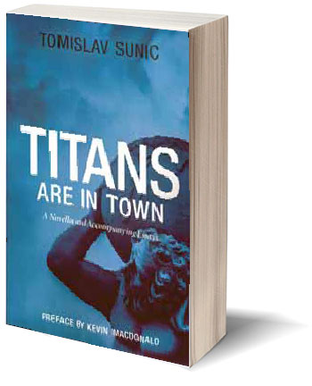 book - Titans are in town-A novella and accompanying essay